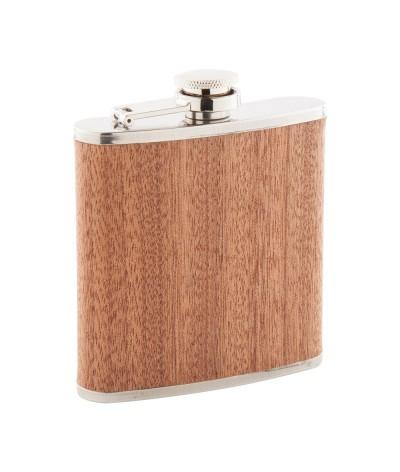 Flasque bois & acier 170 ml