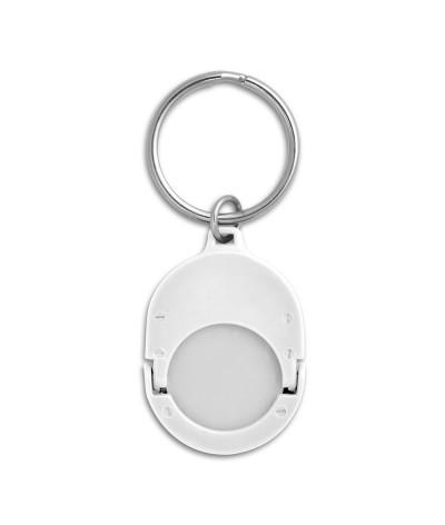 Porte-clés & jeton métal personnalisé