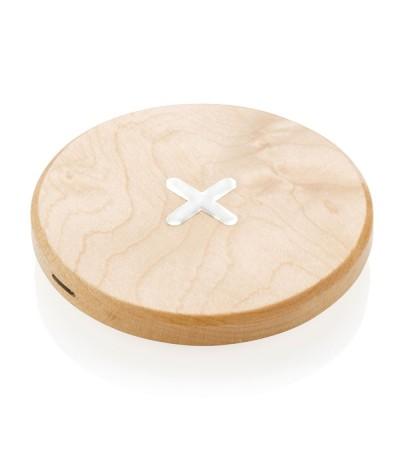 Chargeur à induction en bois 5w