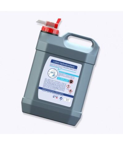 Bidon lotion hydroalcoolique 5 litres