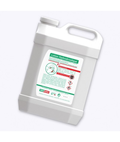 Bidon lotion hydroalcoolique 5 litres personnalisé