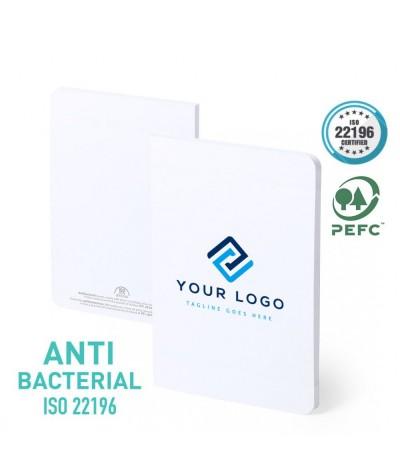 Carnet de notes antibactérien a5 certifié pefc
