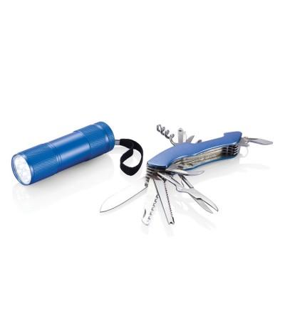 Set outils quattro en aluminium