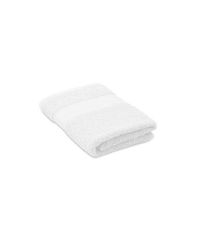 Serviette éponge 100/50 en coton biologique certifiée gots