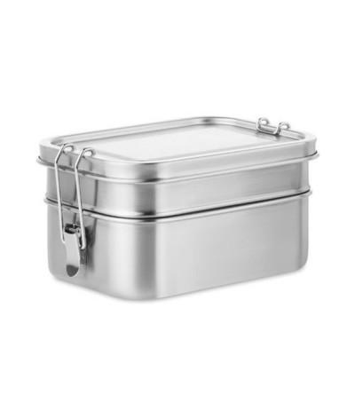 Lunch box acier inoxydable