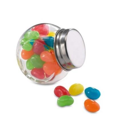 Mini bonbonnière garnie de bonbons