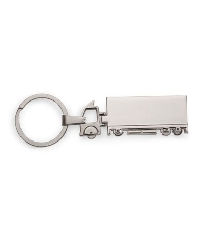 Porte-clés camion en métal