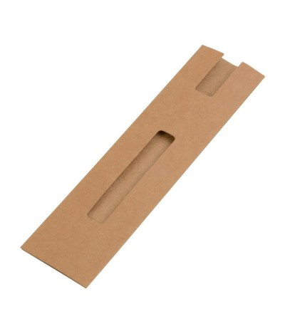 Etui stylo en papier recyclé