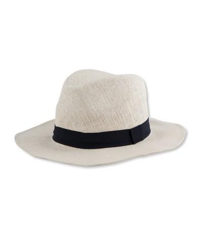 Chapeau en papier avec bande cousue