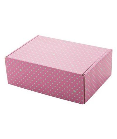 Boîte cadeau postale personnalisable
