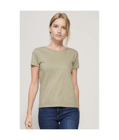 T-shirt femme  coton bio 175 gr