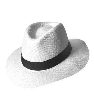 Chapeau panama paille de papier
