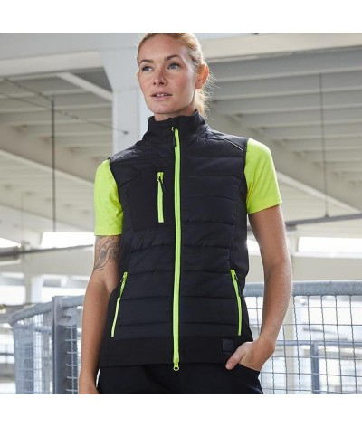 Body warmer en polyester recyclé