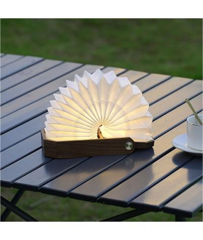 Lampe accordéon autonome avec poignée