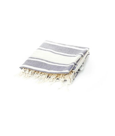 Paréo serviette en coton biologique certifié gots