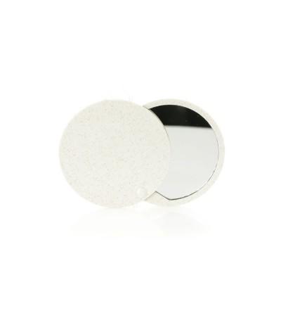 Miroir de poche biosourcé à base de paille de blé