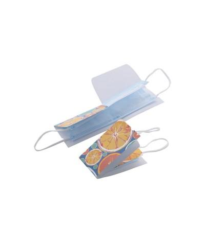 étui de protection en papier pour masque facial